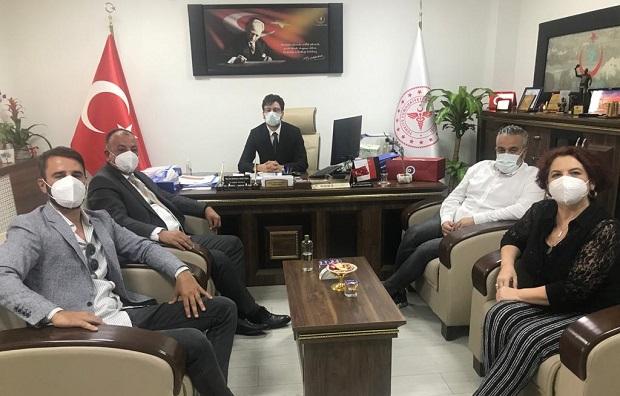ÇTSO Yönetiminden İl Sağlık Müdürüne Ziyaret
