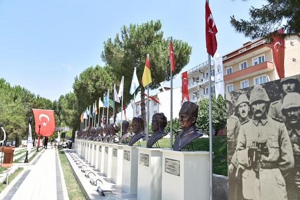 Çanlı Gaziler, Şehitler ve Türk Devletleri Anıtı Açıldı