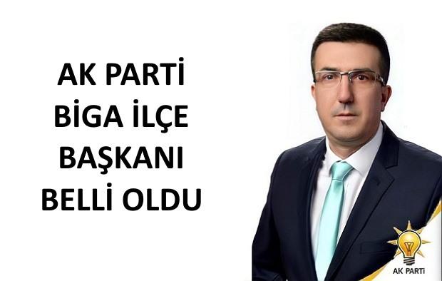 AK Parti Biga İlçe Başkanı Nihat Borazan Oldu