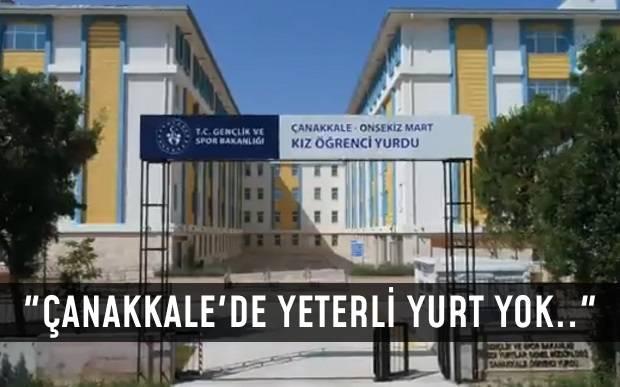 """""""Çanakkale'de 22 Yurt Kapandı.. Öğrenciler Haklı"""""""