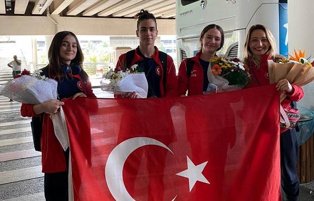Jimnastikçiler Dünya Şampiyonasından Başarıyla Döndü