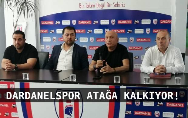 "Dardanelspor'da Hedef ""Profesyonel Ligler"""