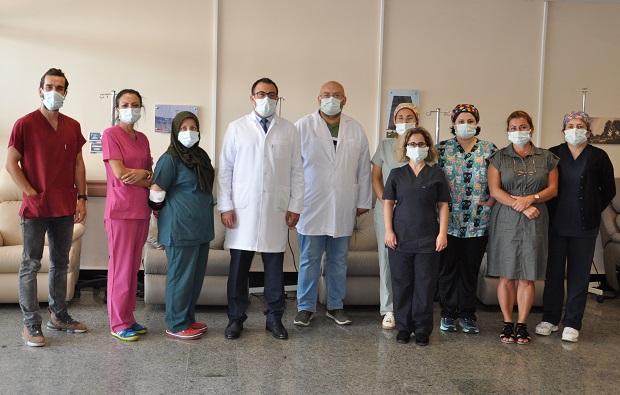 Kemoterapi Ünitesi Yeni Yerinde