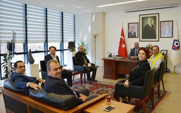 Troya Zeytinyağı Festivali Yönetimi'nden ÇTSO'ya Ziyaret