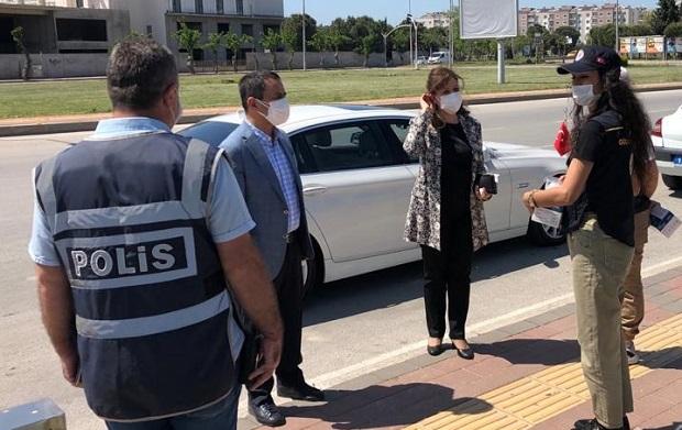 Vali Aktaş'tan Emniyet ve Sağlık Personeline Bayram Ziyareti