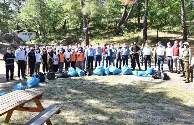 'Çan Belediyesi Ailesi' Doğaya Sahip Çıkıyor
