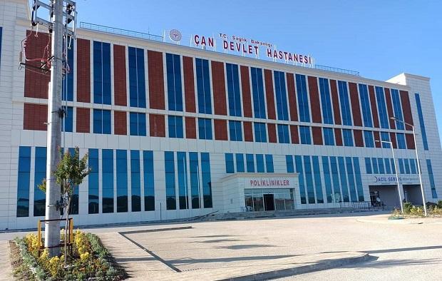 Çan Hastanesi Yeni Binası Hasta Kabulüne Başladı