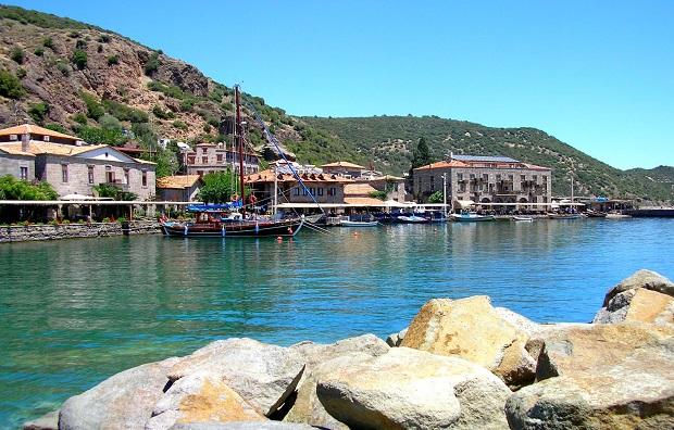 Assos Antik Limanda 500 Günlük Kapanma Başladı