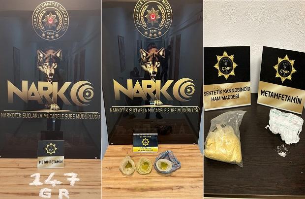 1 Ayda 50 Uyuşturucu Operasyonu