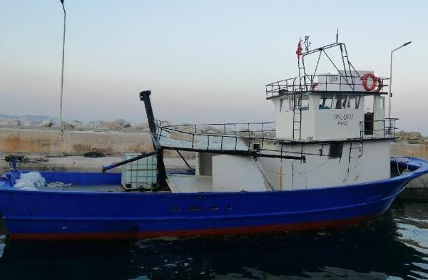 Akıntıya Kapılan Tekne ve Mürettebatı Kurtarıldı