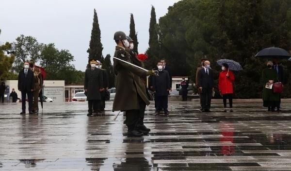 Çanakkale Kara Savaşları'nın 106.Yıldönümünde Sade Tören