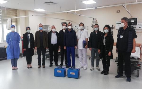 Maden Şirketlerinden Pandemi Hastanesine Bir Destek Daha