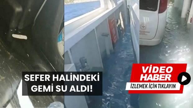 GESTAŞ Feribotu Batma Tehlikesi Geçirdi!