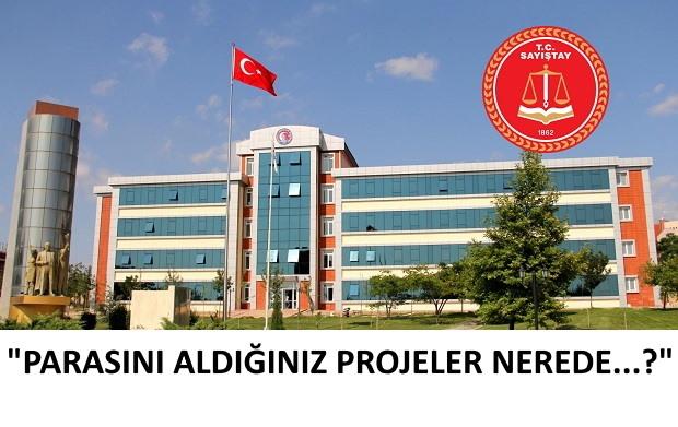 Sayıştay 41 ÇOMÜ'lü Akademisyenin Peşinde..