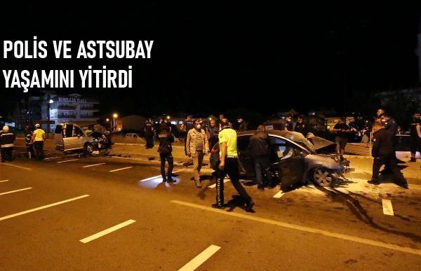 İki Otomobil Çarpıştı: 2 Kişi Öldü