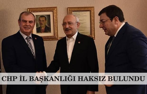 Lapseki CHP İlçe Başkanı Görevine İade Edildi